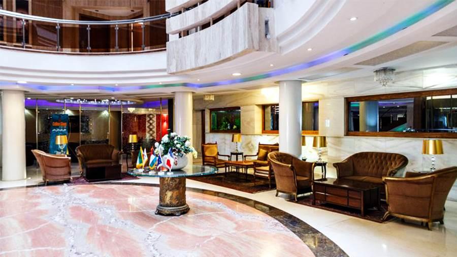 Safir Hotel's Lobby