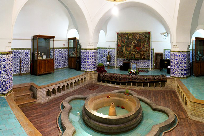 Pahneh bath of Semnan