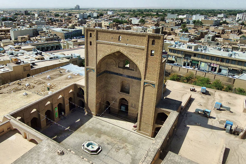 The Jameh Mosque of Semnan